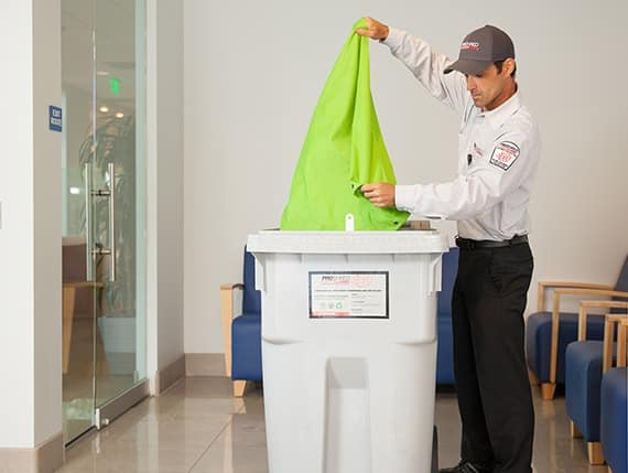ONE-TIME PAPER SHREDDING SERVICES