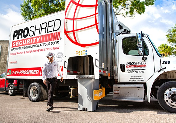 How On-Site Shredding Works