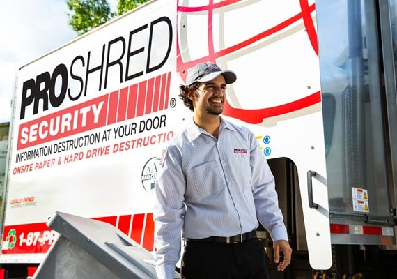 Shredding Services - PROSHRED® Security